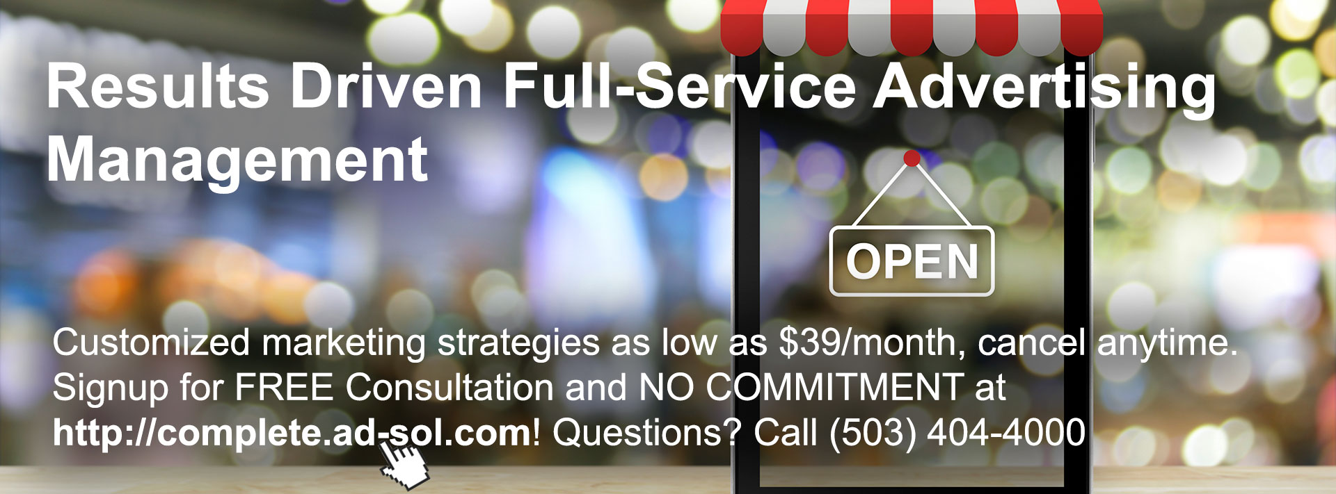 Results Driven Full-Service Advertising Management