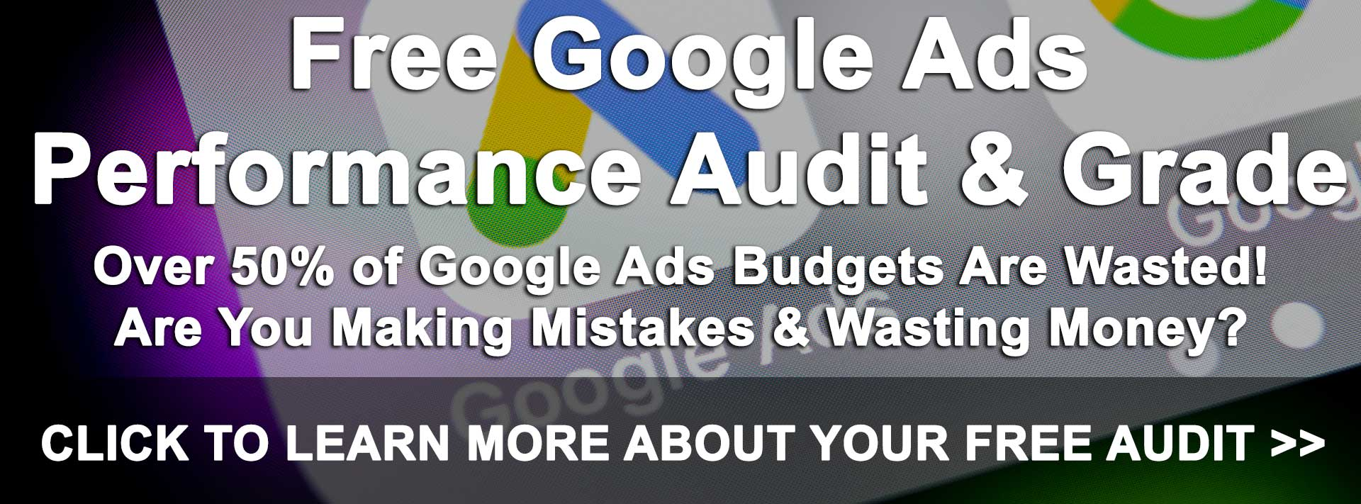 Free Google Ads Performance Audit & Grade