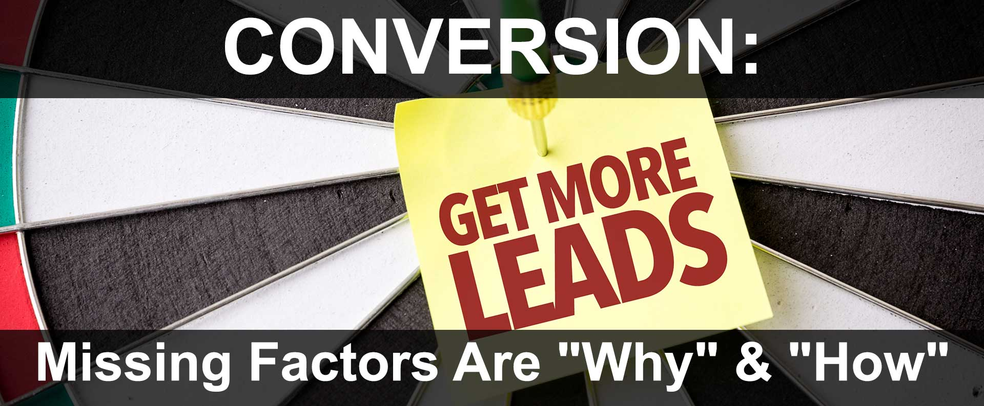 Converting Online Visitors to Sales