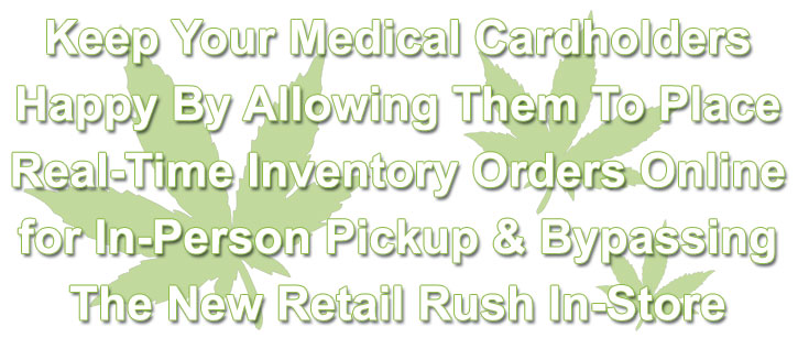 Marijuana Cannabis Dispensary Web-Based Point-of-Sale Website Application Pricing Options