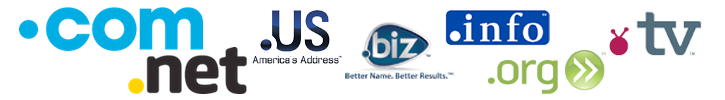 Register your business domain .com .net .org .info .us. biz .tv for only $24.95 - Full-service Domain Registration & Transfer Domain Services