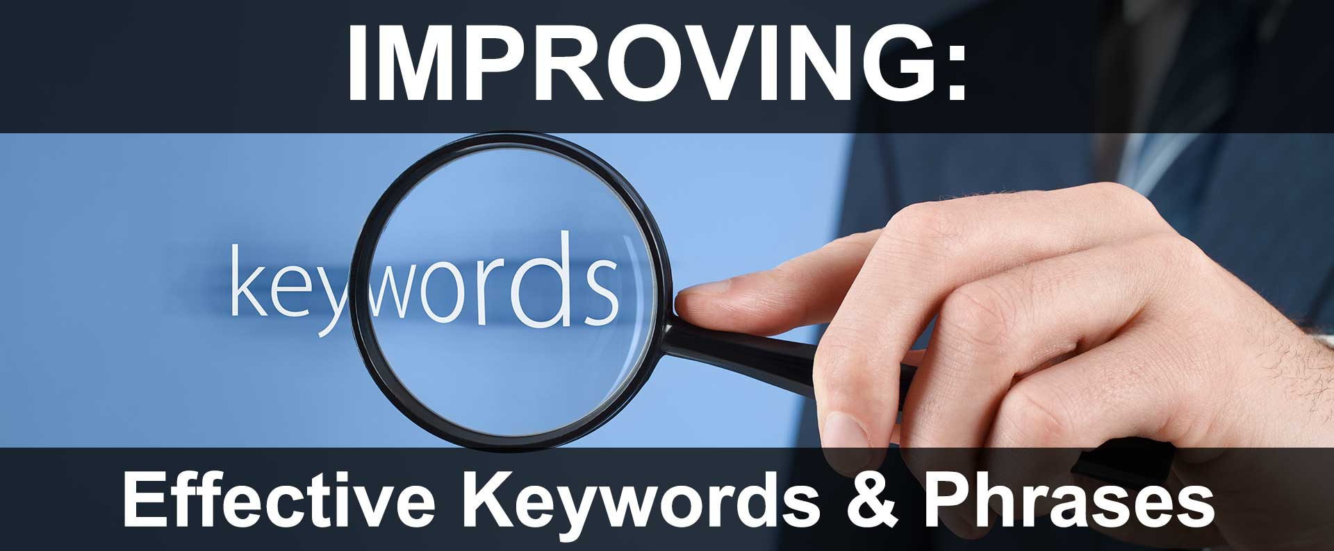 Choosing Effective Website Keywords & Phrases