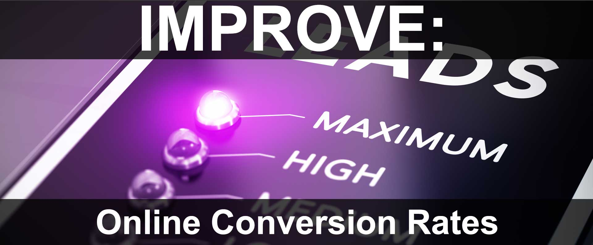 Improving Website Conversion Rates
