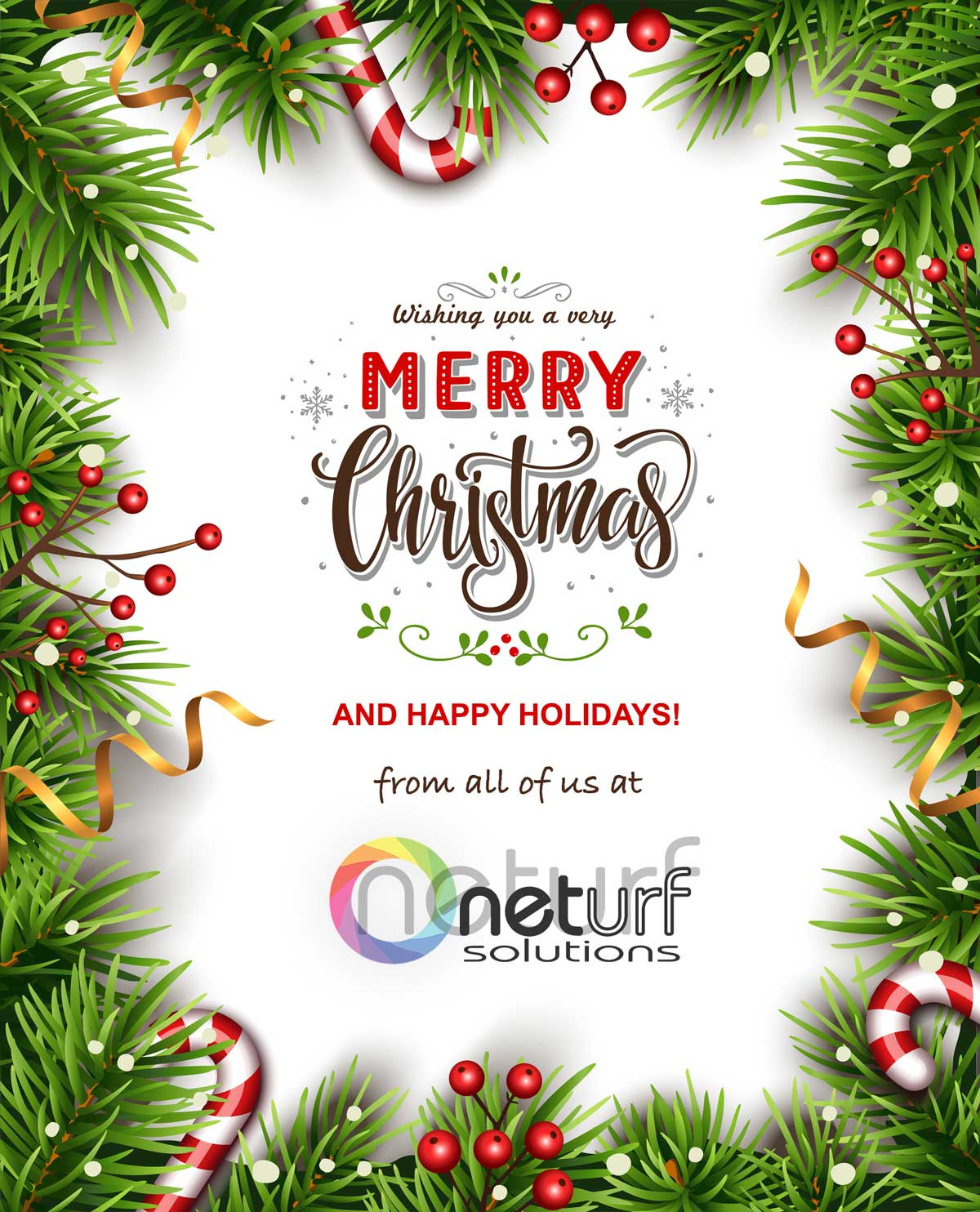 Merry Christmas and Happy Holidays from all of us at Advertising Solutions