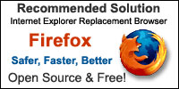 Internet Explorer Replacement Browser - Firefox - Safer, Faster, Better - Open Source & Free