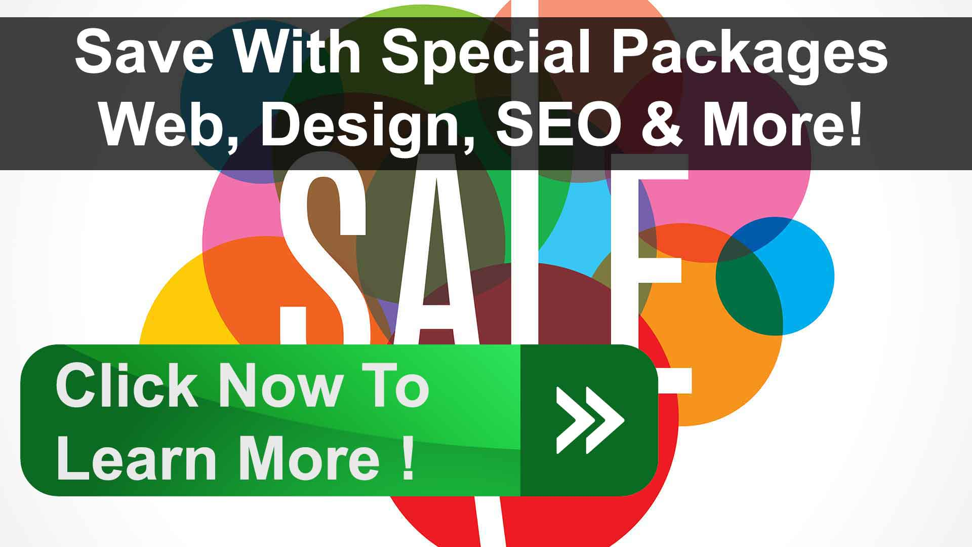 Special Website Packages & SEO!